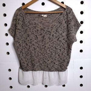 Anthropologie Tops - Anthropologie Moth Knit Blouse